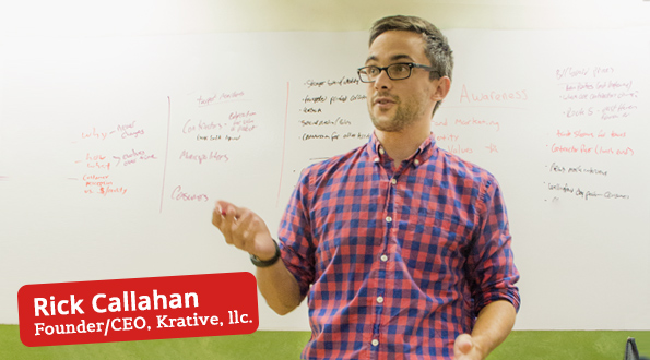 Rick Callahan, CEO & Founder of Krative, llc.